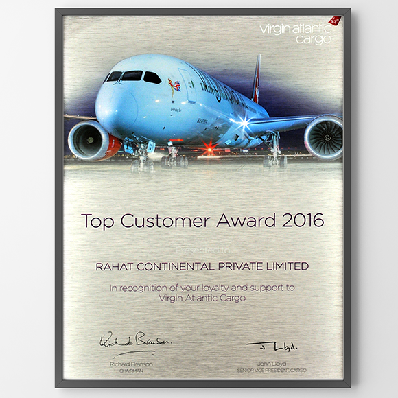 Virgin Atlantic 2016 – Top Performer