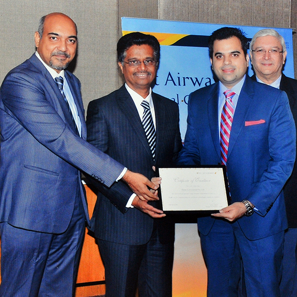 Jet Airways 2016 – Top Performer