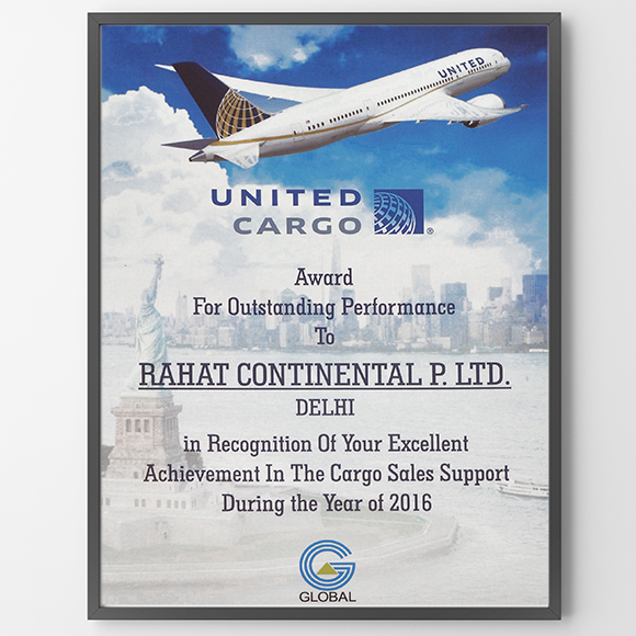 United Cargo 2016 – Top Performer