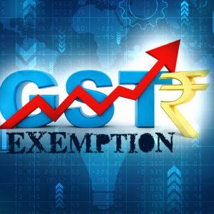 GST Exemption Notification